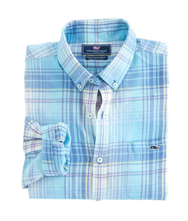 Pequot Plaid Slim Tucker Shirt