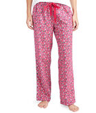 Multi Icon Flannel Lounge Pants