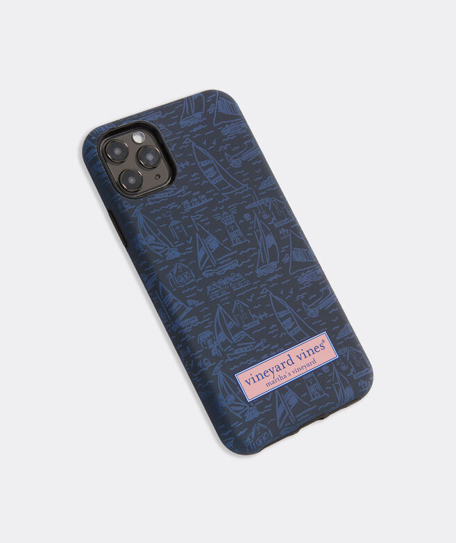 Tonal Scenic Print iPhone 11 Pro Max Case