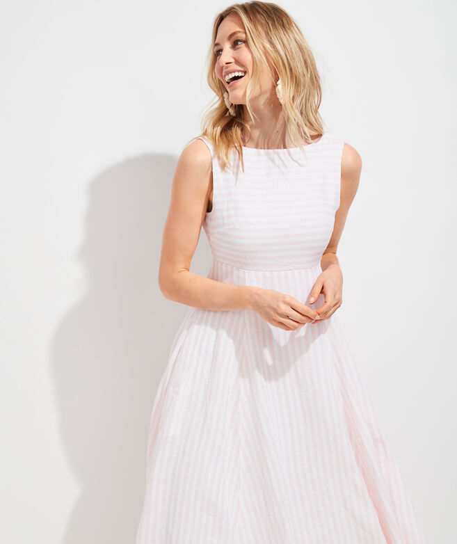 Palm Beach Lately Stripe Maxi Dress