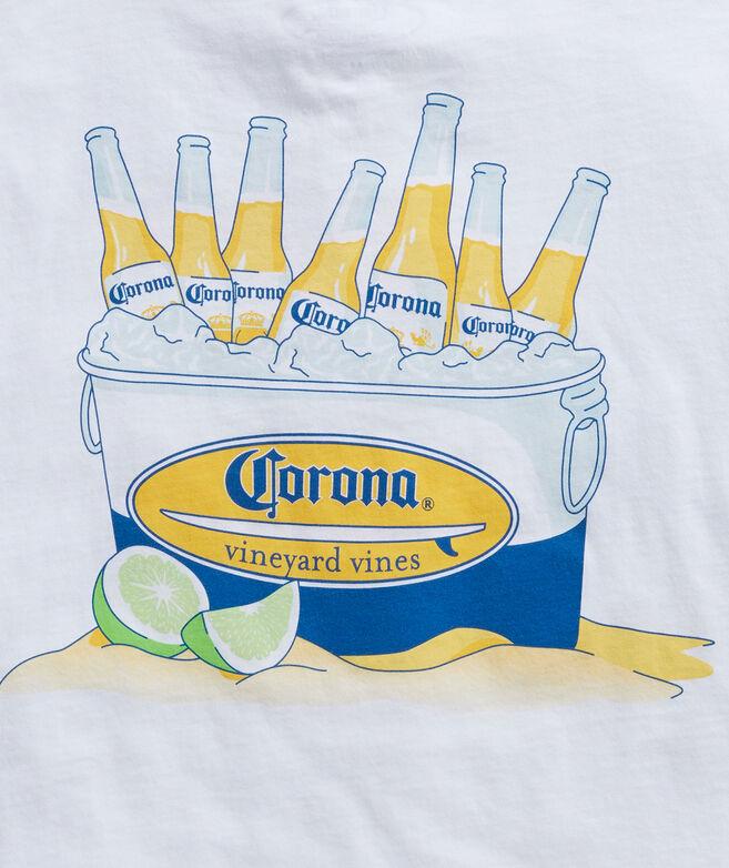 Corona® x vineyard vines Bucket Of Beers Short-Sleeve Pocket Tee