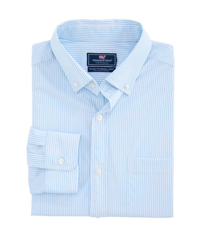 Belem Stripe Performance Classic Murray Shirt