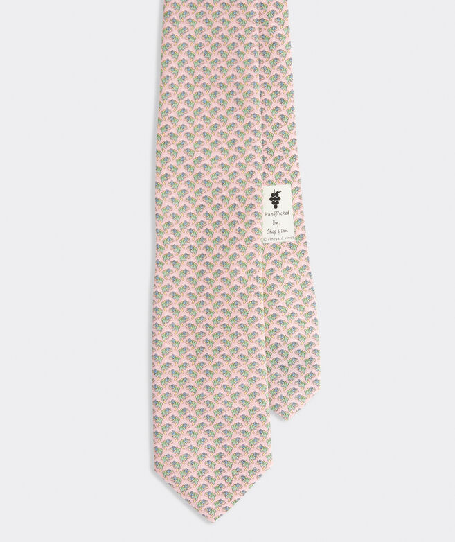 Turn Up The Bass Printed Tie