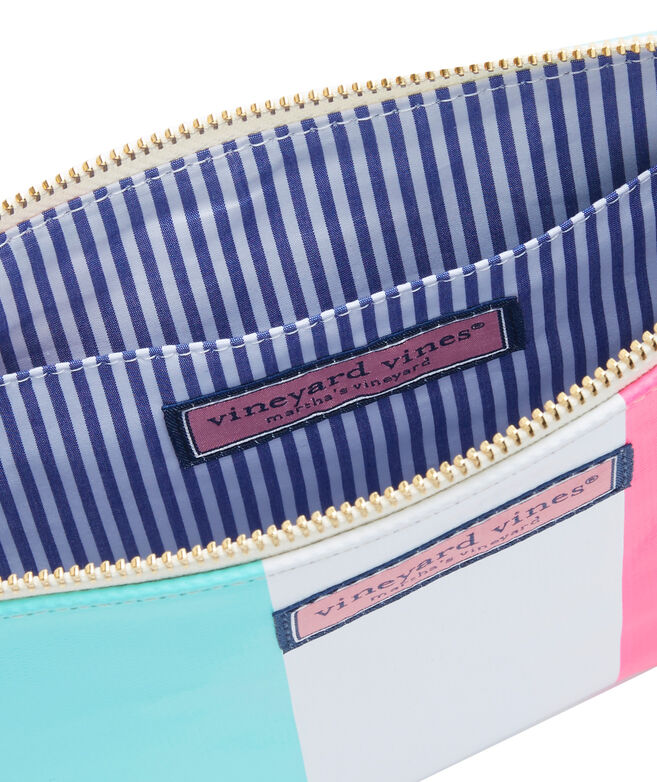 Tri Stripe Clutch