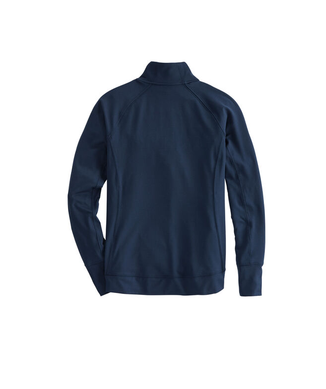 Womens Solid Performance 1/4-Zip