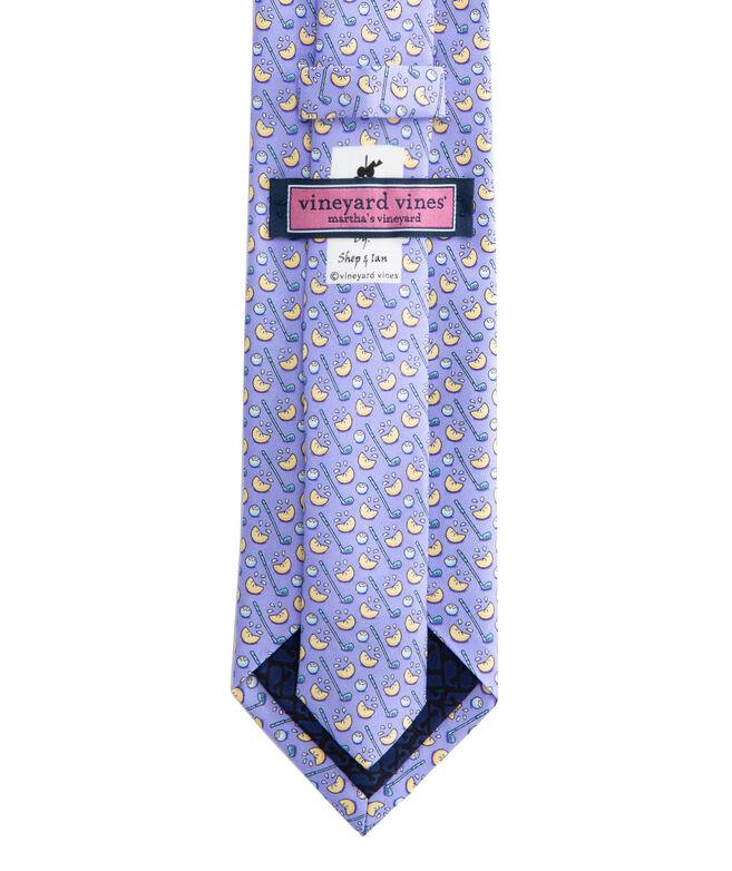 Lemon Wedge Printed Tie