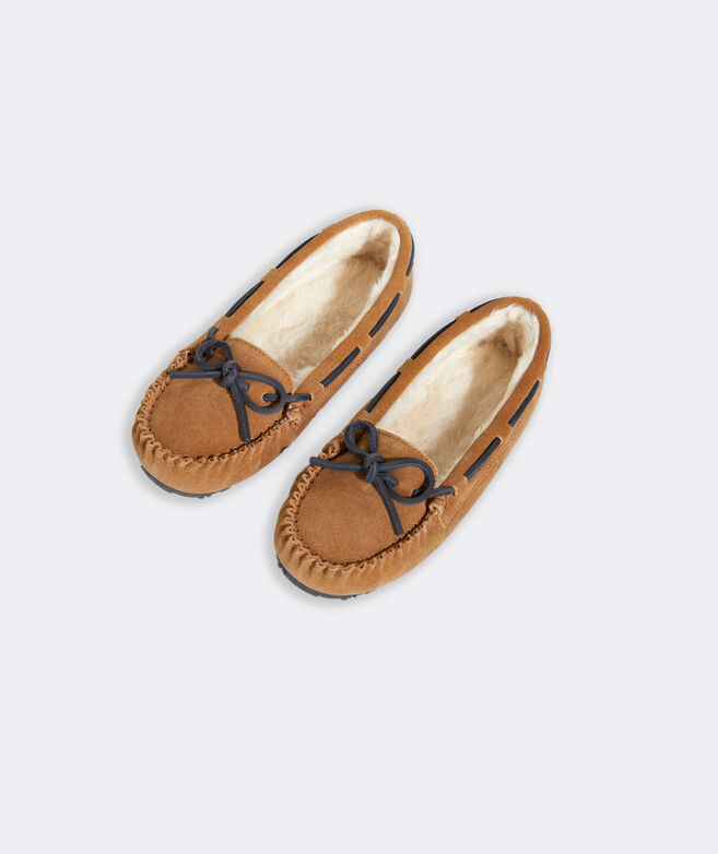 Girls' Suede Slipper