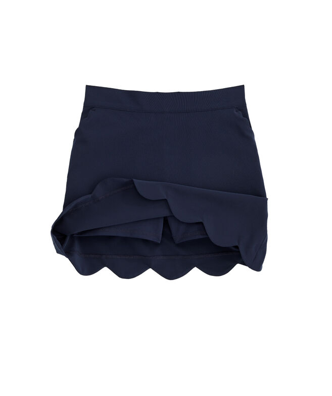 Girls Scallop Sport Skort