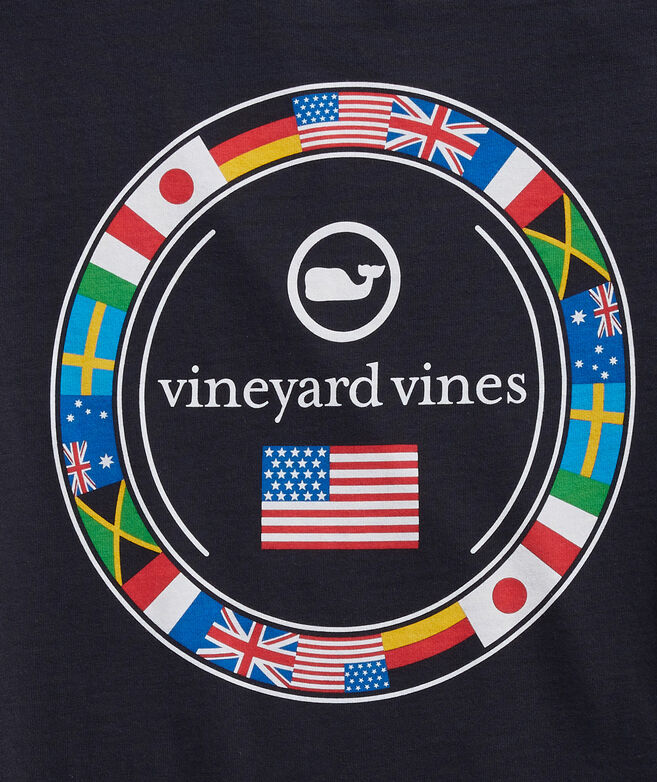 World Flags Long-Sleeve Tee