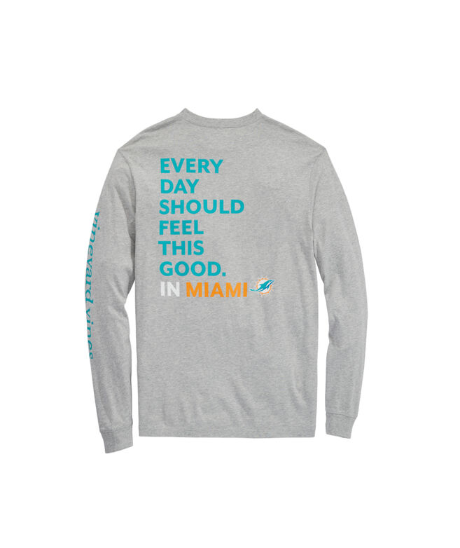 Miami Dolphins Long-Sleeve EDSFTG T-Shirt