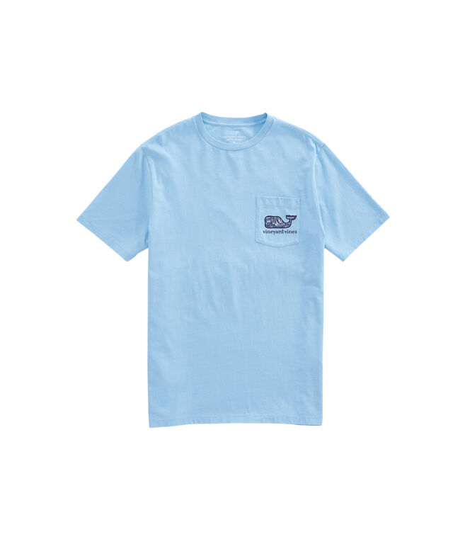OUTLET Vineyard Sailing Whale Fill Short-Sleeve Pocket Tee