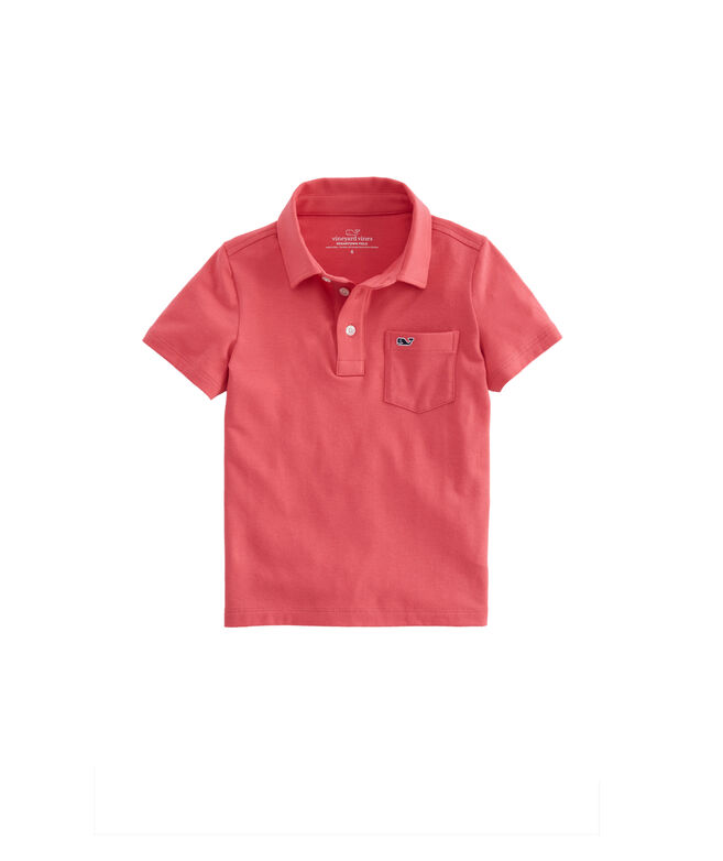 Boys Edgartown Piece Dyed Polo