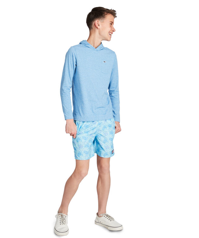 Boys Sea Turtles Chappy Trunks