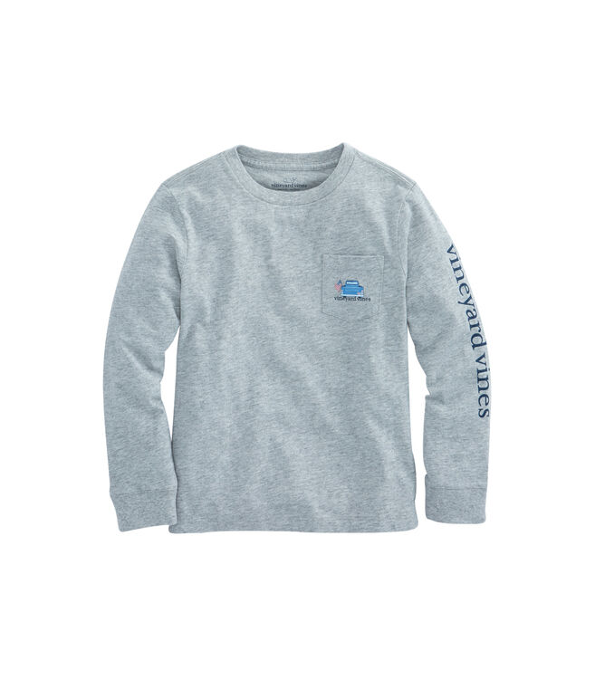 Boys Long-Sleeve Americana Game Day T-Shirt