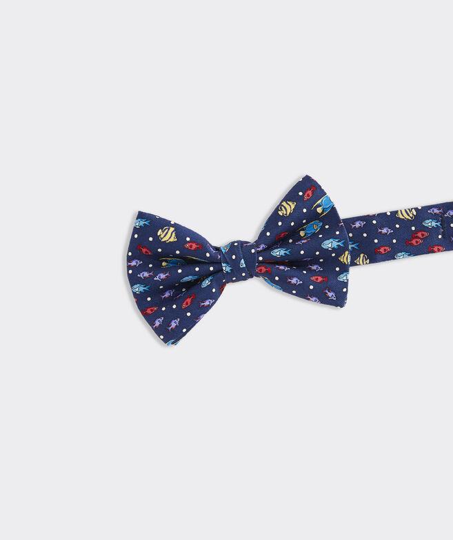 Boys' Bahamian Fish Printed Bow Tie