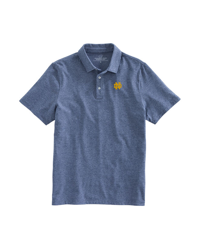 The University of Notre Dame Edgartown Polo