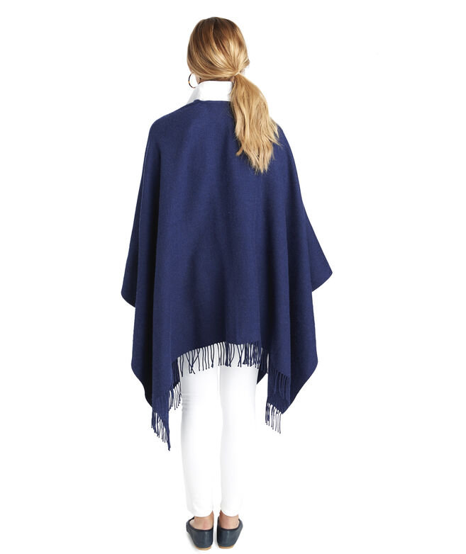 Solid Navy Cape
