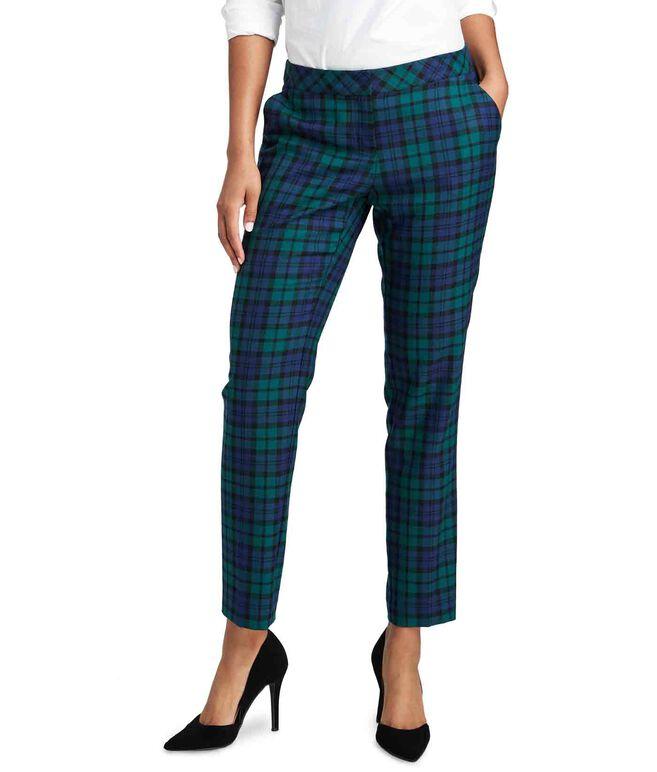 Vineyard Blackwatch Wool Cocktail Pants