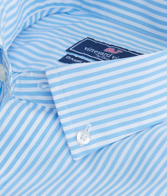 Swordfish Stripe Classic Tucker Shirt