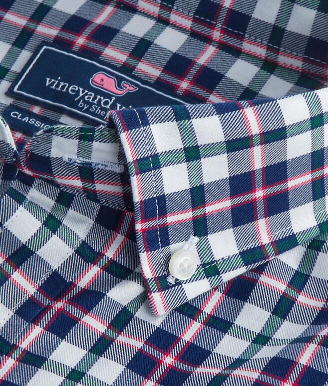 Warm Ember Plaid Classic Tucker Shirt