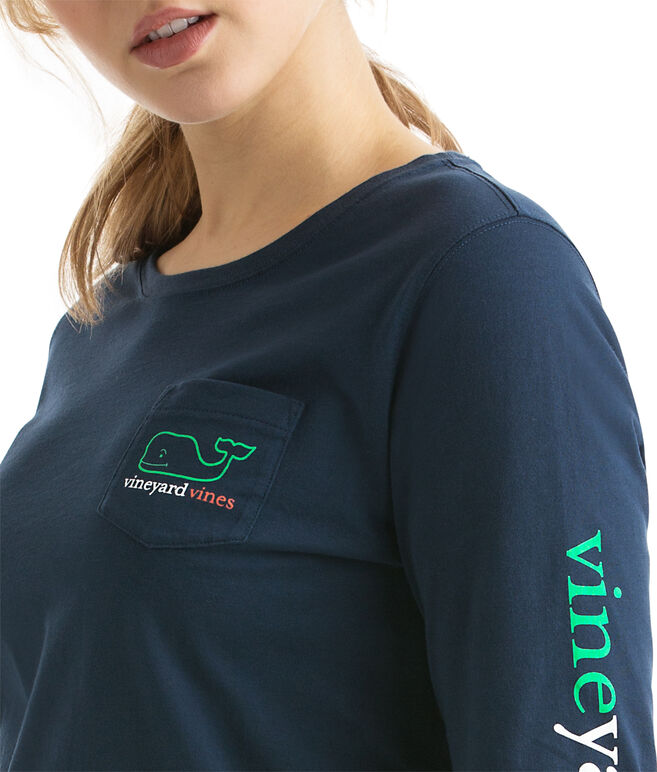 Long-Sleeve St. Patrick's Day Pocket Tee