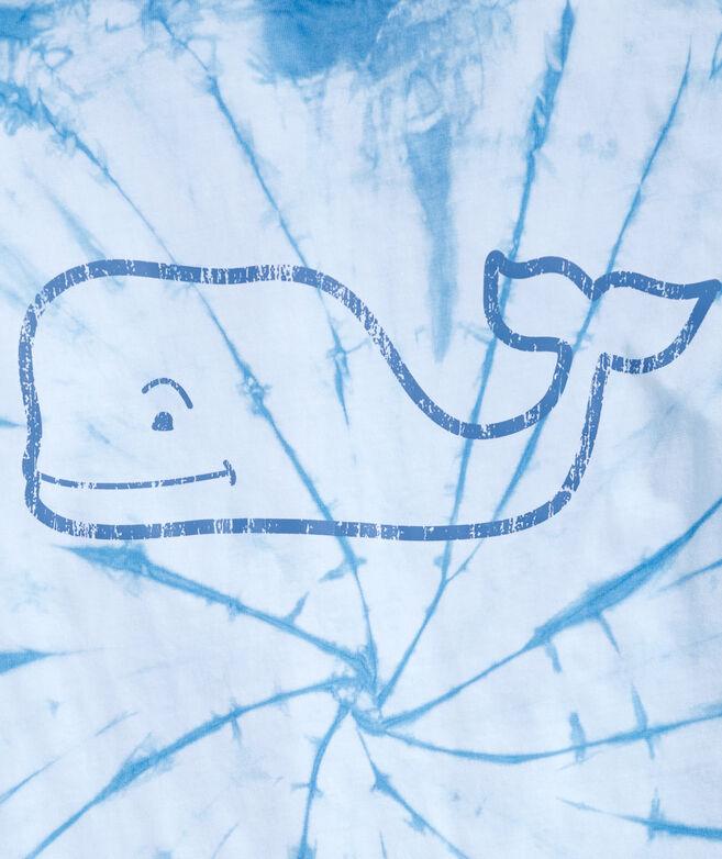 Tie Dye Vintage Whale Long-Sleeve Pocket Tee
