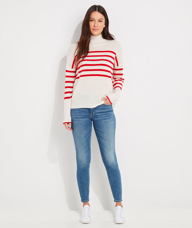 Seaspun Lightweight Cashmere Mockneck Sweater