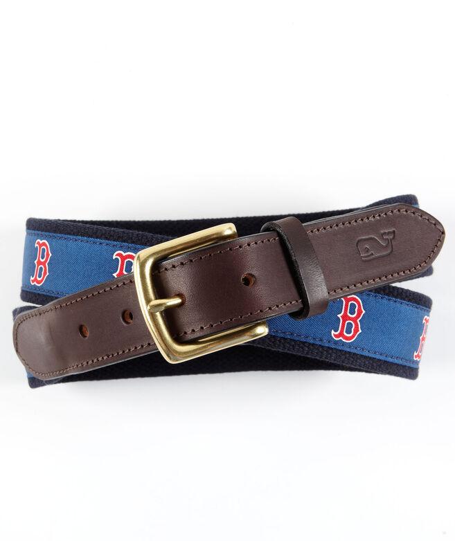 Boston Red Sox Canvas Club Belt