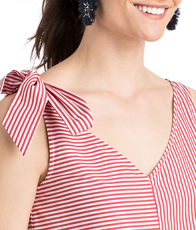 Taffy Stripe Bow Top