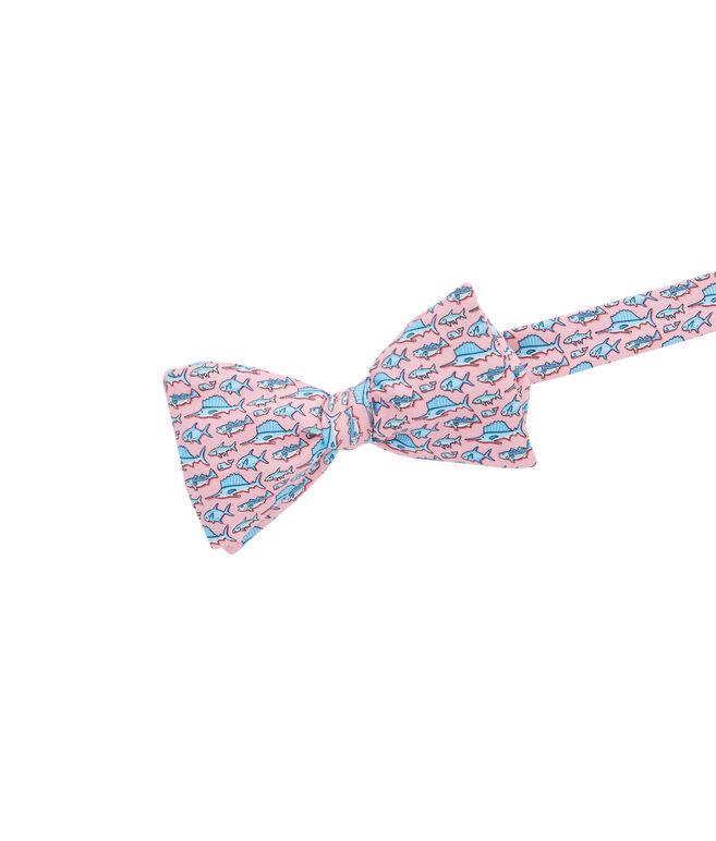 Total Fisherman Printed Bow Tie
