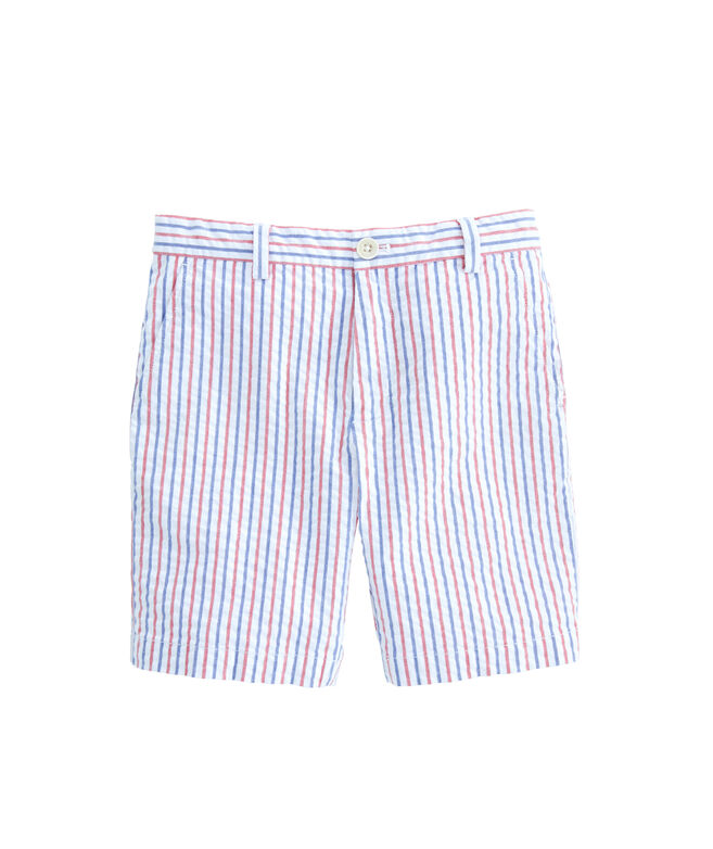 Boys Firework Stripe Breaker Shorts
