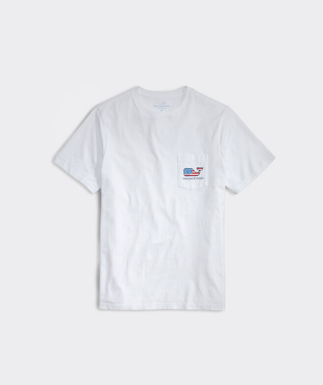 Surf Flag Short-Sleeve Pocket Tee