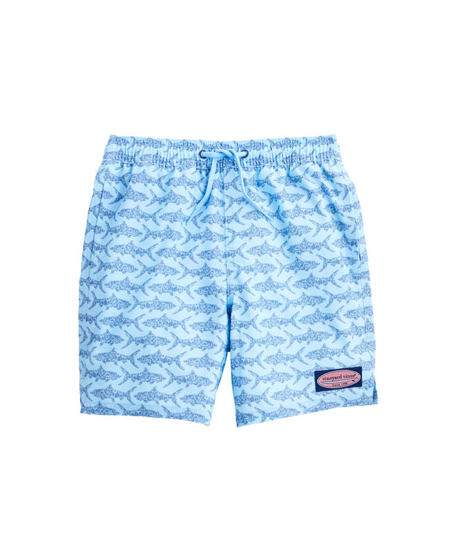 Boys Bonefish Sketch Chappy Trunks