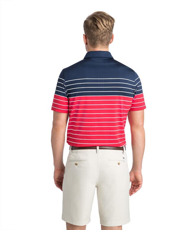 Engingeer Three Color Stripe Sankaty Polo