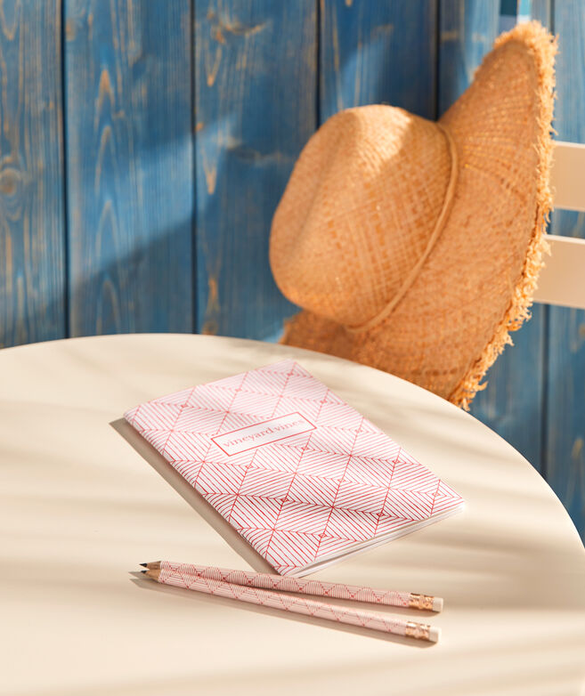 Canopy Geo Notebook and Pencils Set