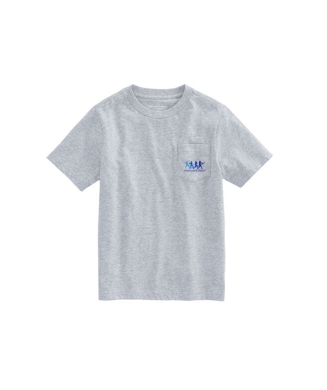Boys Tonal Homerun Pocket T-Shirt