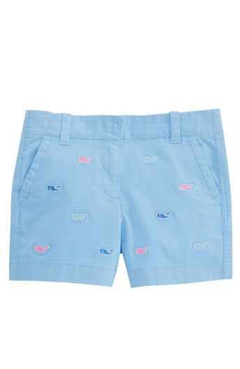 cccfa44c63 Girls Multi Whale Embroidered Every Day Shorts