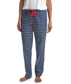 Santa Whale & Tree Flannel Lounge Pants