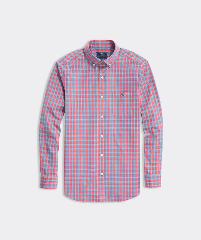 Classic Fit Masthead Poplin Tucker Button-Down Shirt