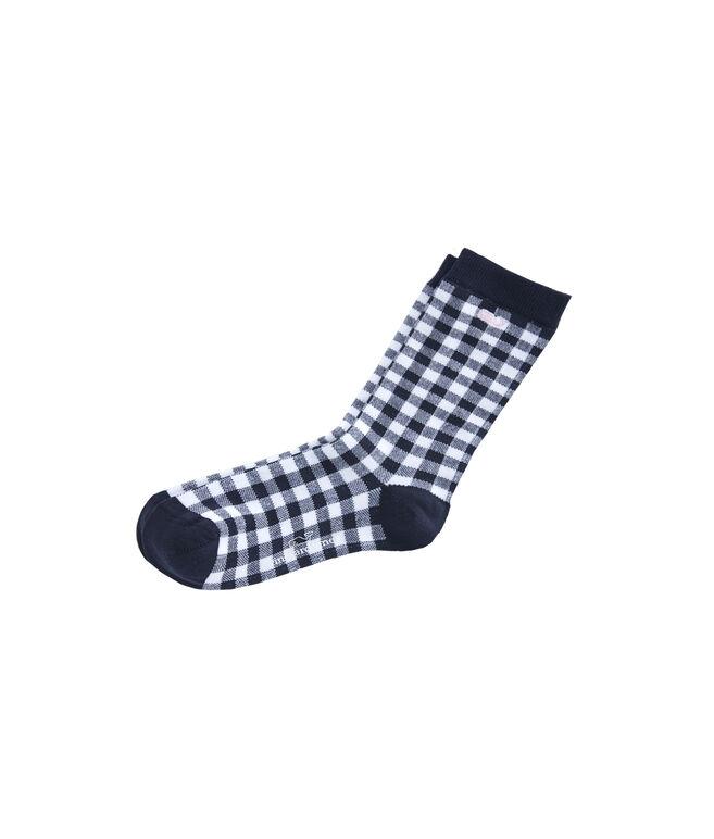 Mae Gingham Socks