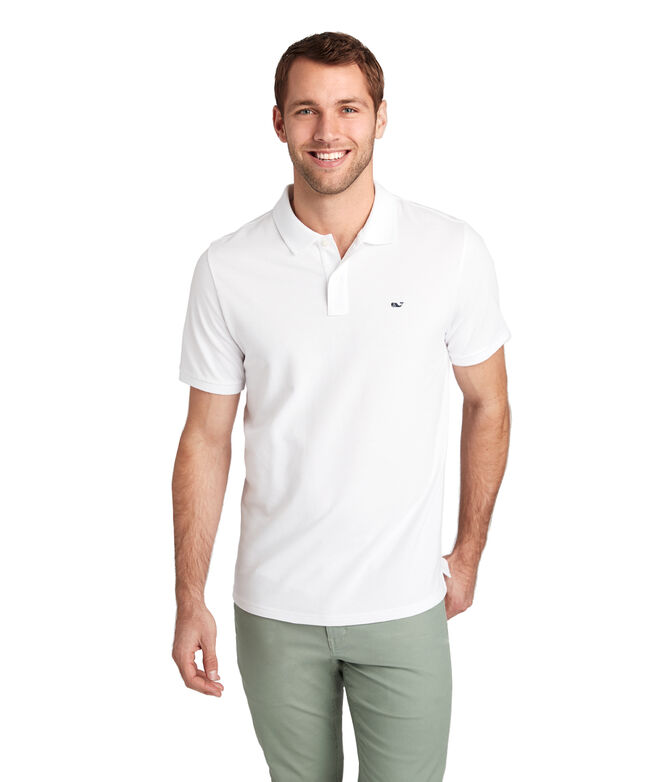 Cotton Pique Solid Polo