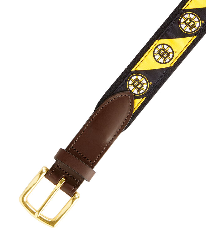 Boston Bruins Boys Belt