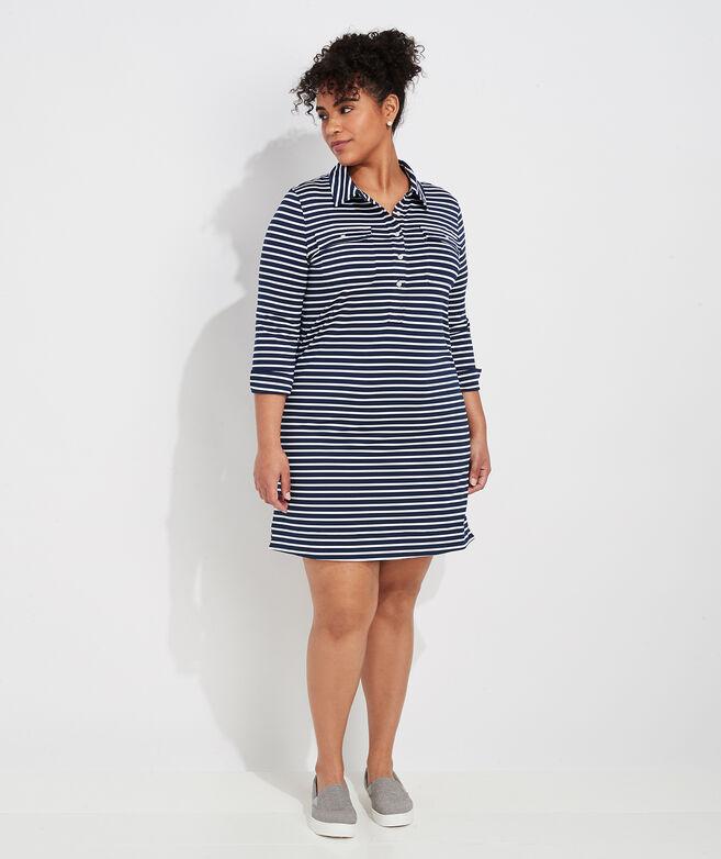 Striped Lightweight Sankaty Margo Shirt Dress