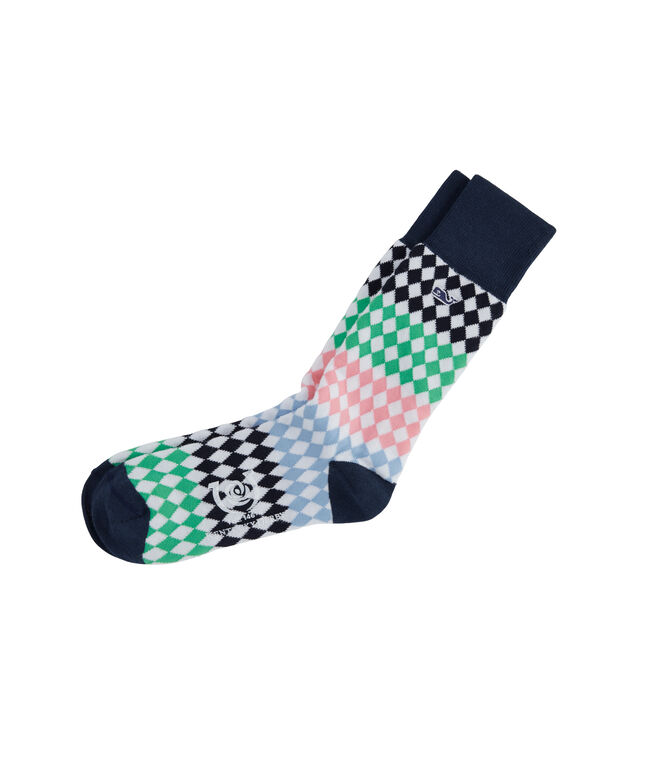 Diamond Stripe Socks