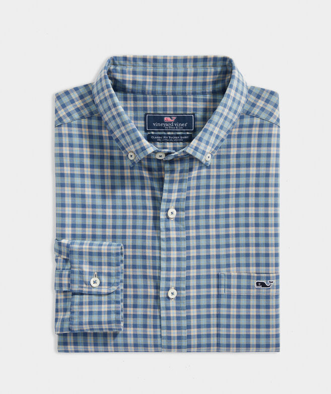 Classic Fit Twill Tucker Shirt