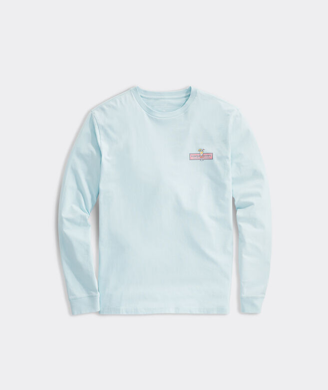 Tequila Sunrise Logo Long-Sleeve Tee