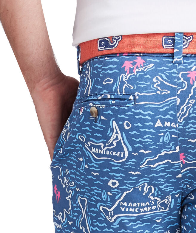 9 Inch Map Of The Islands Breaker Shorts