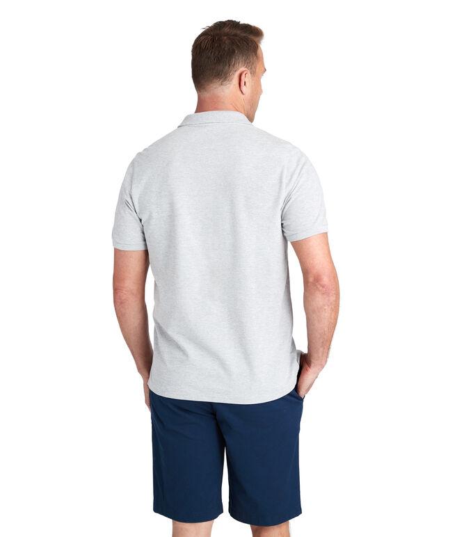 Cotton Pique Solid Polo