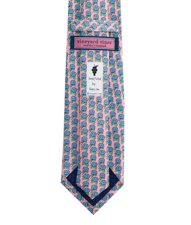 Hydrangea Tie