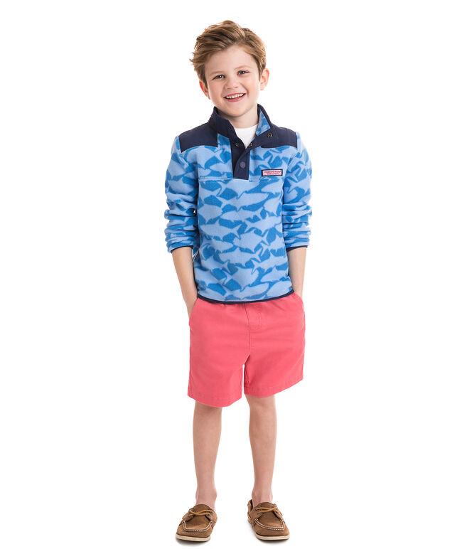 Boys Printed Fleece Shep Shirt